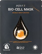 Parfums et Produits cosmétiques Masque bio-cellulose à l'extrait de propolis pour visage - SNP Double Moisturizing Bio-Cell Mask