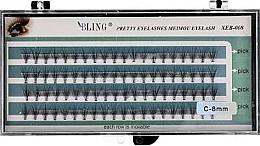 Parfums et Produits cosmétiques Faux-cils individuels C-8 mm - Bling Pretty Eyelashes