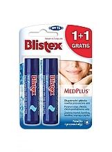 Parfums et Produits cosmétiques Blistex MedPlus Stick Lip Balm SPF 15 - Set (baume à lèvres/2x4,25 g)