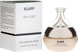 Parfums et Produits cosmétiques Crème à l'huile de graines de raisin pour contour des yeux - Klapp Silk Code Eye Contour Cream