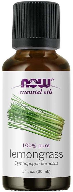 Huile essentielle de citronnelle - Now Foods Essential Oils 100% Pure Lemongrass