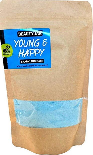 Poudre de bain effervescente, Jeune et heureux - Beauty Jar Young and Happy Sparkling Bath