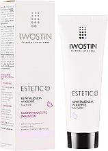 Parfums et Produits cosmétiques Crème de nuit à l'acide hyaluronique - Iwostin Estetic 2 Revitalization Night Cream
