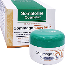 Parfums et Produits cosmétiques Gommage lissant au sucre de canne et huile d'amande pour corps - Somatoline Cosmetic Gommage sucre brun