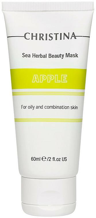Masque à l'extrait de pomme pour visage - Christina Sea Herbal Beauty Mask Green Apple