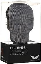 Brosse démêlante - Tangle Angel Rebel Brush Black Chrome — Photo N1