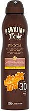 Parfums et Produits cosmétiques Huile sèche solaire en spray, noix de coco et mangue SPF 30 - Hawaiian Tropic Protective Dry Oil Spray SPF 30