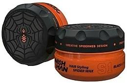 Parfums et Produits cosmétiques Cire-toile d'araignée coiffante - Nishman Hair Styling Spider Wax S1 Black Widow