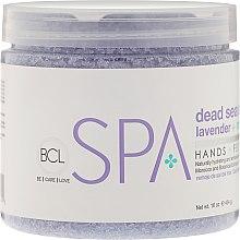 Parfums et Produits cosmétiques Sels de bain de la mer Morte à la lavande et jasmin - BCL SPA Jasmine Lavender Salt Soak
