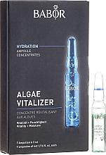 Parfums et Produits cosmétiques Ampoules aux algues pour visage - Babor Ampoule Concentrates Algae Vitalizer
