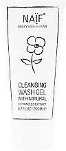 Parfums et Produits cosmétiques Gel douche à l'extrait de graines de coton naturel pour enfants - Naif Cleansing Wash Gel
