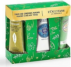 Parfums et Produits cosmétiques L'Occitane Hand Cream Trio Xmas - Coffret (crème pour mains/3x30ml)