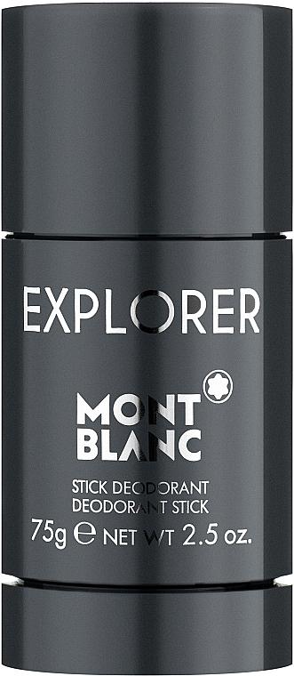 Montblanc Explorer - Déodorant stick anti-transpirant