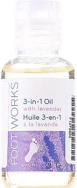 Huile à la lavande pour pieds - Avon Foot Works 3-in-1 Oil With Lavender