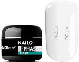 Parfums et Produits cosmétiques Gel pour ongles - Silcare Nailo 1-Phase Gel UV Clear