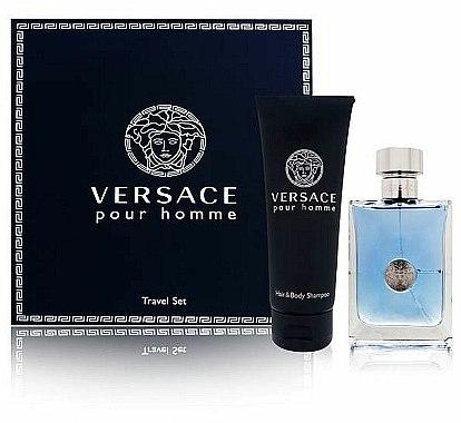 Versace Versace Pour Homme - Coffret (eau de toilette/100ml + shampooing pour cheveux et corps/150ml)