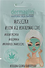 Parfums et Produits cosmétiques Masque anti-âge à l'argile bleue cambrienne et huile de chanvre - Dermaglin Slow Age
