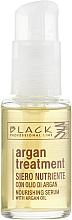 Parfums et Produits cosmétiques Sérum à l'huile d'argan pour cheveux - Black Professional Line Argan Treatment Serum