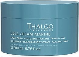 Parfums et Produits cosmétiques Crème à l'eau marine pour corps - Thalgo Cold Cream Marine Deeply Nourishing Body Cream