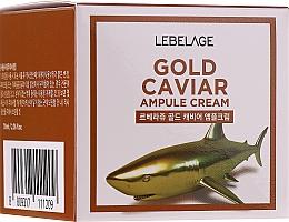 Crème rajeunissante à l'Or et extrait de caviar - Lebelage Ampoule Cream Gold Caviar — Photo N1