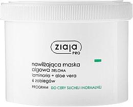 Parfums et Produits cosmétiques Masque aux algues et aloe vera pour visage - Ziaja Pro Algae Mask
