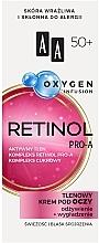 Parfums et Produits cosmétiques Crème à l'oxygène pour contour yeux 50+ - AA Oxygen Infusion Retinol Pro-A Eye Cream