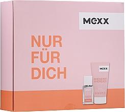 Parfums et Produits cosmétiques Mexx Whenever Wherever For Her - Set (eau de toilette/15ml + gel douche/50ml)