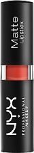 Parfums et Produits cosmétiques Rouge à lèvres mat - NYX Professional Makeup Matte Lipstick