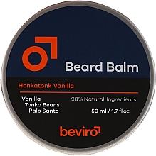 Parfums et Produits cosmétiques Baume à barbe - Beviro Beard Balm Vanilla, Palo Santo, Tonka Boby