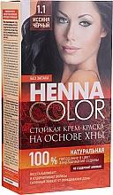 Parfums et Produits cosmétiques Crème colorante permanente à base de henné sans ammoniaque - FitoKosmetik Henna Color