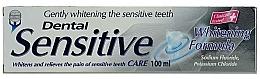 Parfums et Produits cosmétiques Dentifrice blanchissant - Dental Sensitive Whitening Formula