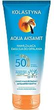 Parfums et Produits cosmétiques Lotion solaire à l'acide hyaluronique pour corps - Kolastyna Aqua Aksamit SPF50