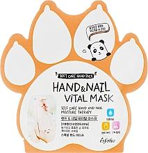 Parfums et Produits cosmétiques Masque pour mains et ongles - Esfolio Hand & Nail Vital Mask