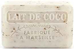 Parfums et Produits cosmétiques Savon végétal de Marseille, Lait de coco - Foufour Savonnette Marseillaise