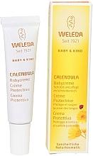 Parfums et Produits cosmétiques Crème protectrice pour la zone des langes - Weleda Calendula Babycream (mini)