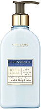 Parfums et Produits cosmétiques Lotion à l'iris et sauge pour mains et corps - Oriflame Essense & Co. Hand&Body Lotion