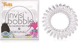 Parfums et Produits cosmétiques Élastiques à cheveux - Invisibobble Troll Sparkling Clear