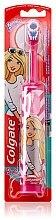 Parfums et Produits cosmétiques Brosse à dents électrique enfants, ultra douce, rose-blanc - Colgate Electric Motion Barbie