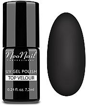 Parfums et Produits cosmétiques Top coat mat effet velours pour vernis semi-permanent - NeoNail Professional Top Matte Velour Uv Gel Polish