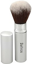 Parfums et Produits cosmétiques Pinceau à maquillage - Sefiros Silver Retractable Brush