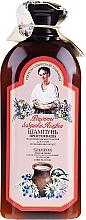 Parfums et Produits cosmétiques Shampooing au yaourt pour cheveux secs et colorés - Les recettes de babouchka Agafia