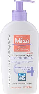 Lait démaquillant pour visage et yeux - Mixa Pro-Tolerance Cleansing Milk