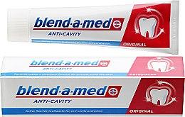 Parfums et Produits cosmétiques Dentifrice anti-caries - Blend-a-med Anti-Cavity Original Toothpaste