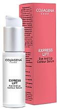 Parfums et Produits cosmétiques Sérum à l'acide hyaluronique contour des yeux et des lèvres - Collagena Code Express Lift Eye And Lip