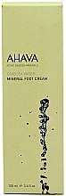 Parfums et Produits cosmétiques Crème minérale pour pieds - Ahava Deadsea Water Mineral Foot Cream