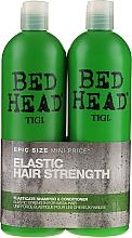 Parfums et Produits cosmétiques Tigi Bed Head Elasticate - Set(shampooing/750ml + après-shampooing/750ml)