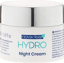 Parfums et Produits cosmétiques Crème de nuit à l'acide hyaluronique et extrait de riz - Novaclear Hydro Night Cream