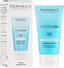 Parfums et Produits cosmétiques Gommage enzymatique pour visage, cou et décolleté - Dermedic Hydrain3 Hialuro Peel