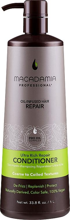 Après-shampooing réparateur à l'huile d'avocat - Macadamia Professional Ultra Rich Repair Conditioner