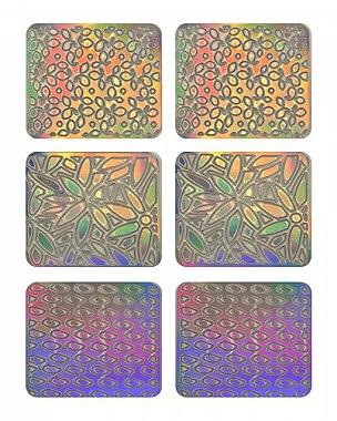 Autocollants pour ongles, 3704 - Neess Patternness